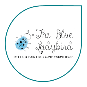 Logo for The Blue Ladybird, created by Hannes Digital