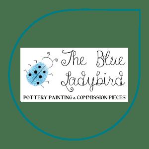 Logo for The Blue Ladybird, created by Hannes Digital