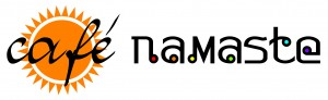 Logo for Café Namaste