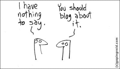 What should a small business blog about? Anything!